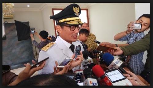 TELAK, Ahoker Nyinyir Soal RAPBD 2018 , Wagub Sandi: Itu Kan Hasil Rezim Ahok-Djarot