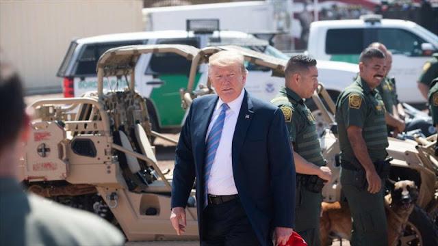 Trump ordena la reubicación de 750 agentes en frontera con México