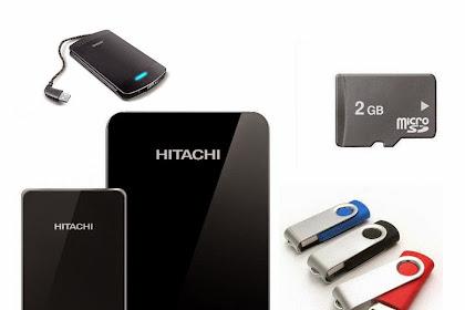 Penyebab Flashdisk, Memori Card Dan Hardisk External Rusak