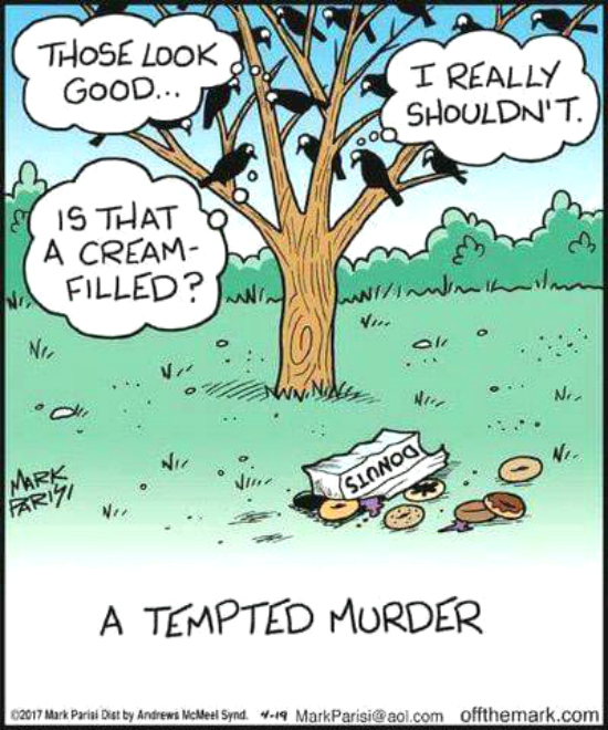 Dying for Chocolate: Cartoon of the Day: A Tempted Murder