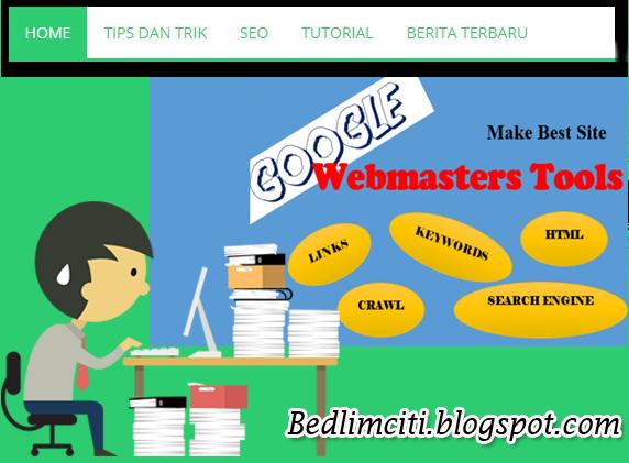 Cara Mendaftarkan Blog Di Google Webmaster Tools Terbukti