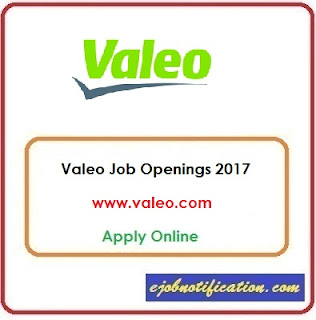 Valeo Hiring Mechanical Engineer Jobs in Chennai Apply Online