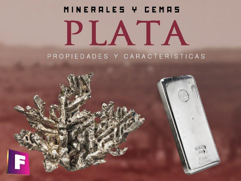 plata propiedades características y aplicaciones principales | foro de minerales
