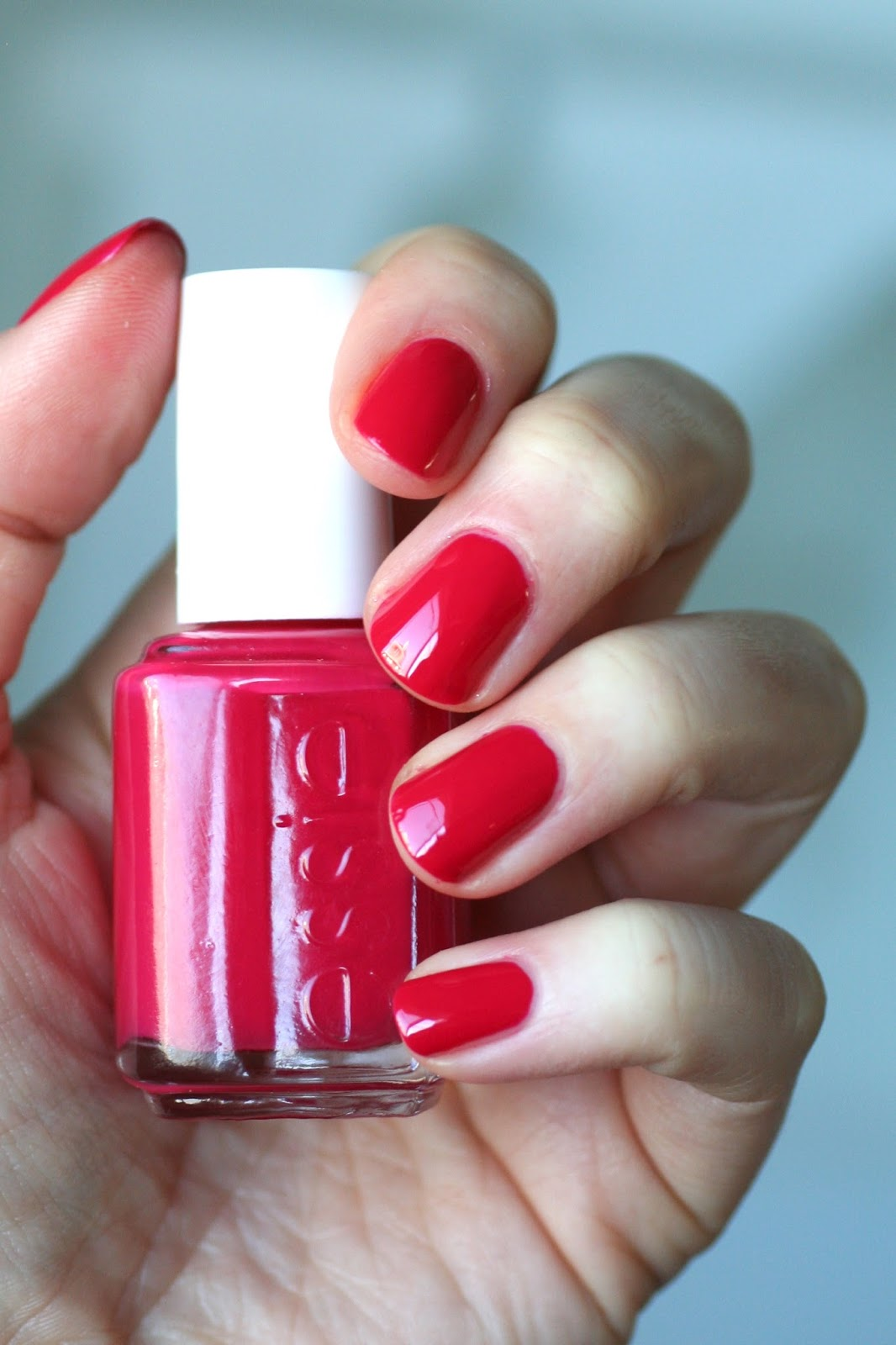 Essie Pink-Toned Reds Comparison: Haute in the Heat, Style Hunter ...