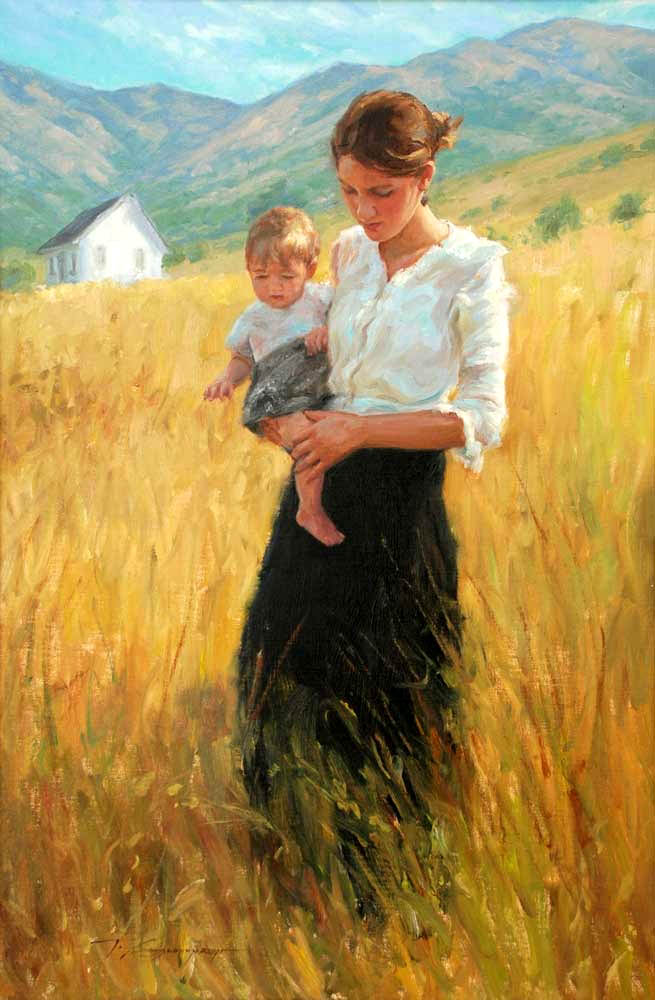 Art Mothers and Children on Pinterest | Mother And Child ...