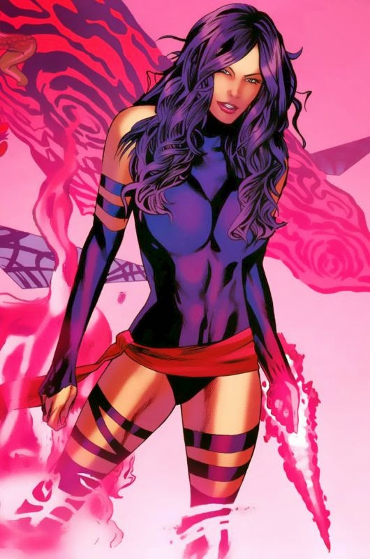 Psylocke - Marvel Comics-X-Men