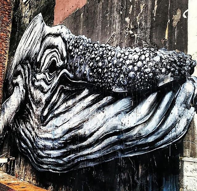 Street Art By ROA In Norway For Nuart. 2