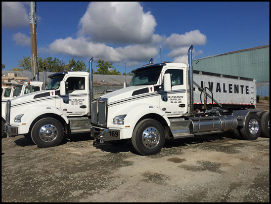 R. J. Valente Gravel, Inc. Kenworth T880 Dump Trucks