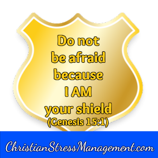Do not be afraid because I am your shield. (Genesis 15:1)