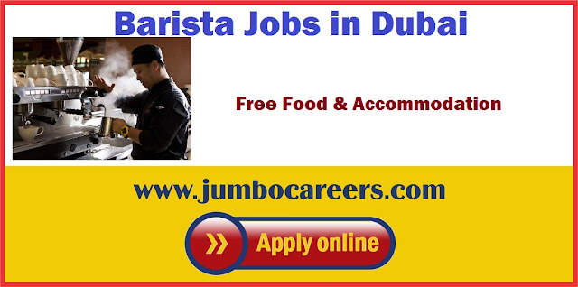 Barista Jobs Dubai