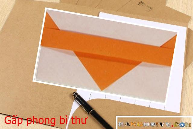 Hướng dẫn cách gấp phong bì bằng giấy đơn giản - How to make a envelope