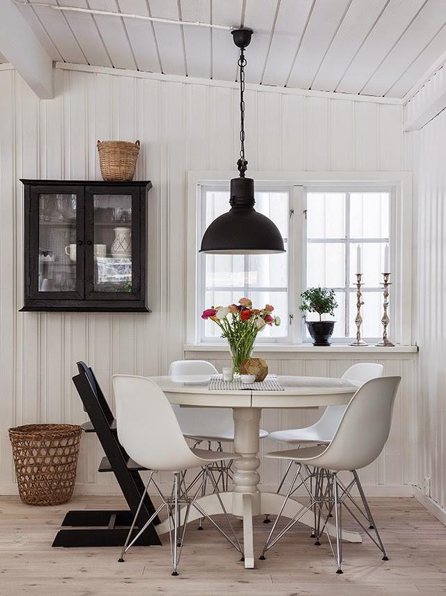 En estado de rachel grandes mesas redondas para la cocina - Mesa cocina vintage ...