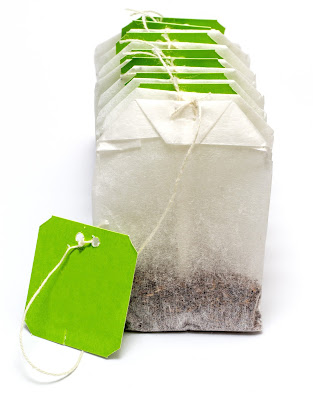 Green Tea Bags for de-puffing