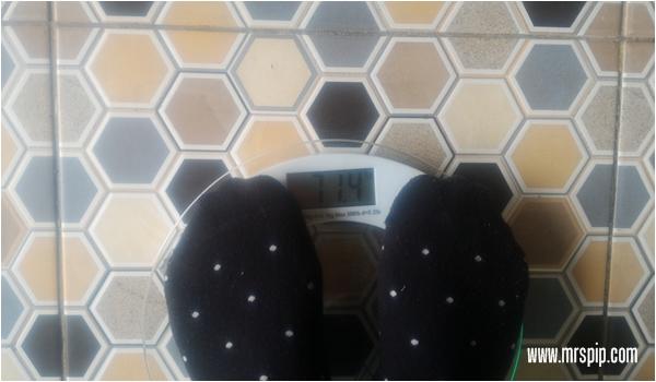 turun berat badan 2 minggu selepas bersalin