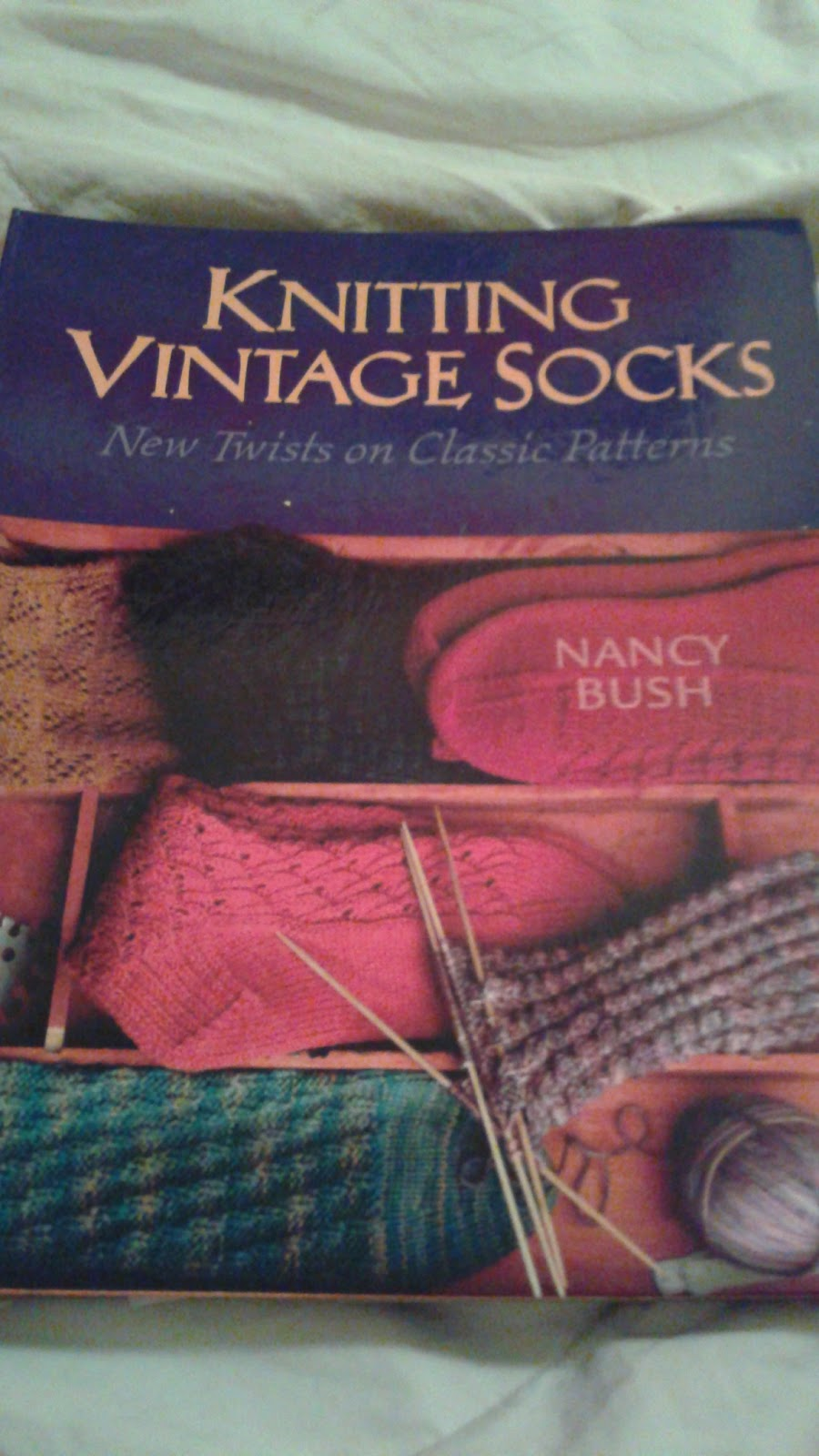 Knitting Earnestly Knitting Vintage Socks