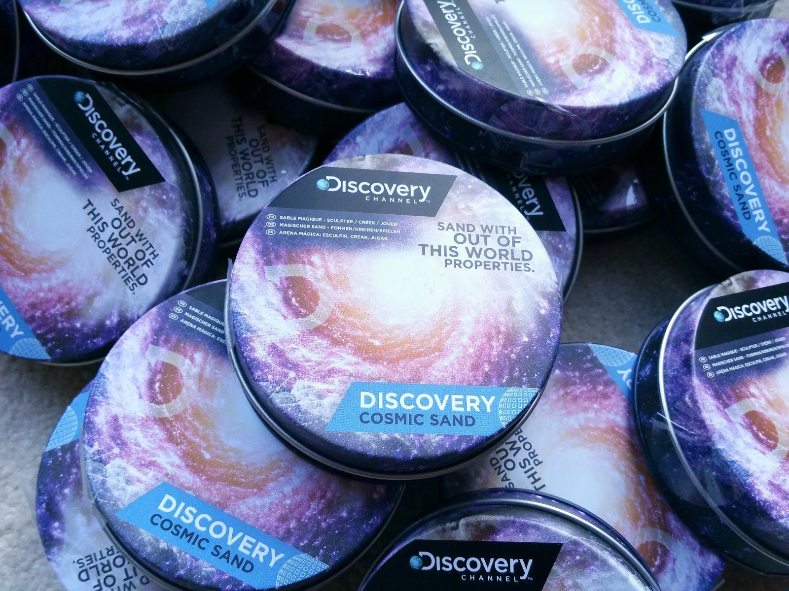 Science Party, Party Bag Favour, Discovery Channel Cosmic Sand