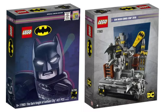 Batman 80th Anniversary LEGO SDCC 2019 Exclusive