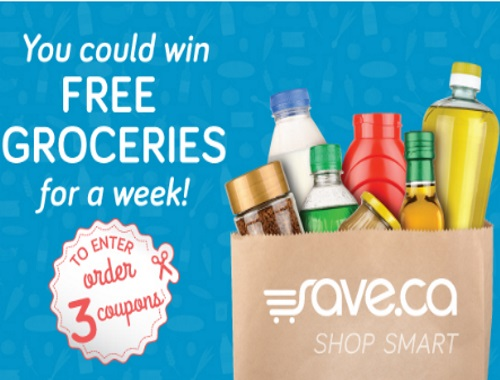 Save.ca Free Groceries for a Week Coupon Contest