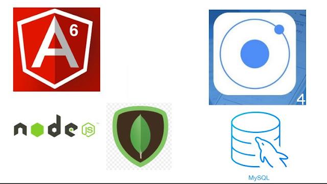 Angular 6 com Node JS, Mongo DB, e Mysql jwt IONIC 4