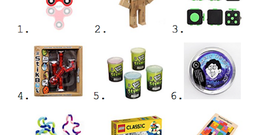 Top 10 Fidgets for Sensory Kids