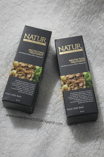 [REVIEW] Natur Hair Serum Protecting Treatment