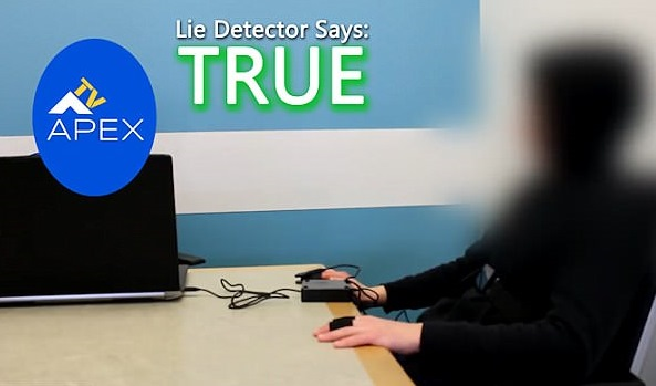 A man who claimed to have come from 6491 passed a lie detector test