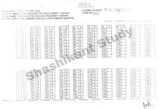 BHU-M.Sc-Soil-Water-Conservation-Answer-Key-2017