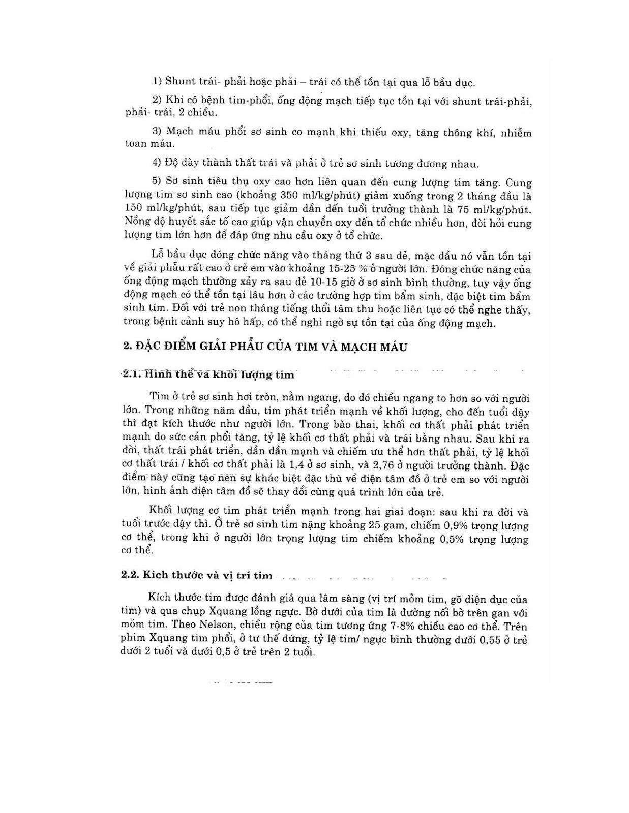 Trang 8 sach Bài giảng Nhi khoa - ĐH Y Hà Nội (Tập 2)