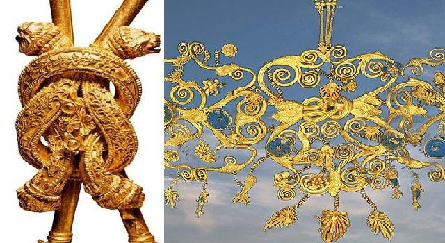 Ancient Greece: Heraklionammaor knot of Hercules