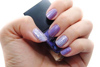 manicura holografica