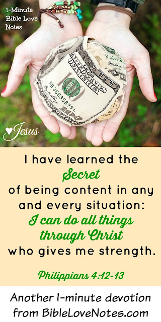 Philippians 4:12,13, contentment, shoplifting
