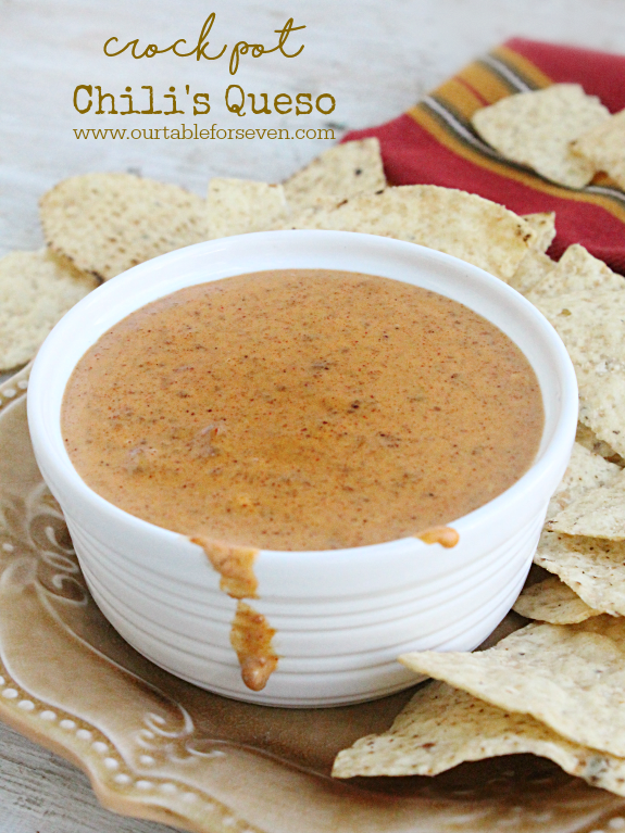 Crock Pot Chili's Queso