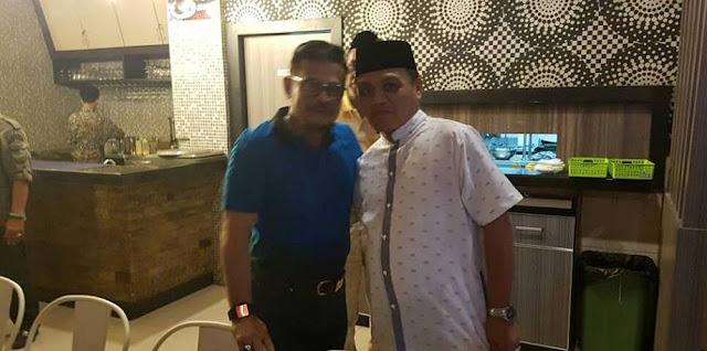 Bertemu di Makassar, Gubernur SYL Inginkan SBj Maju 01 Luwu