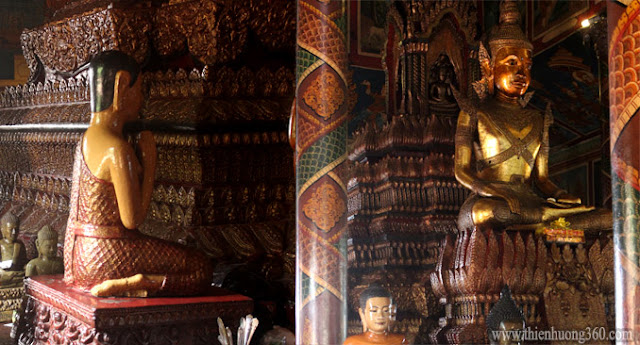 Chánh điện chùa Wat Phnôm (Chùa bà Pênh)