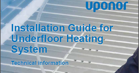 Underfloor Heating Systems Installation Guide Pdf