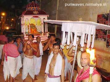 Pandu Nrusingh At Jagannath Temple