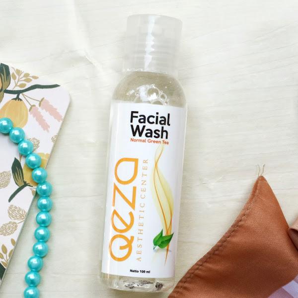 Qeza Facial Wash Normal Green Tea Kontrol Minyak Berlebih Pada Wajah
