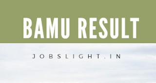 BAMU Result 2017