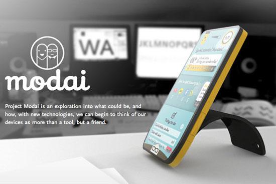 Modai Phone by Julius Tarng