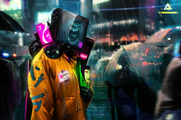 Jacek Babinski artstation arte ilustrações ficção científica cyberpunk blade runner