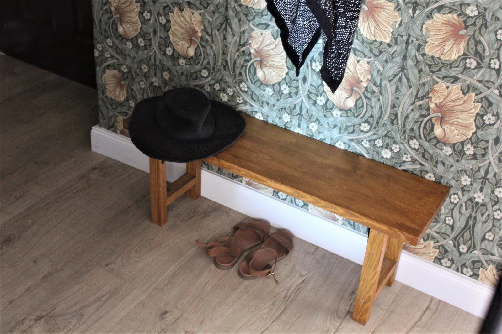 Domowo 158 Drewniana ławeczka Do Przedpokoju