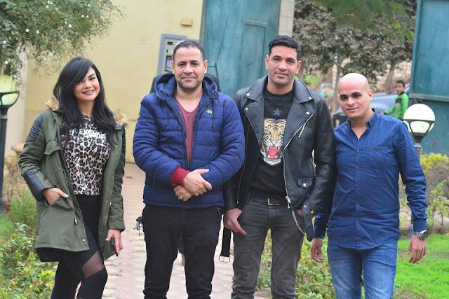 """بالصور.. سعد الحباك يخطو أولى خطواته نحو الشهرة بفيلم """"عايش ميت"""""""
