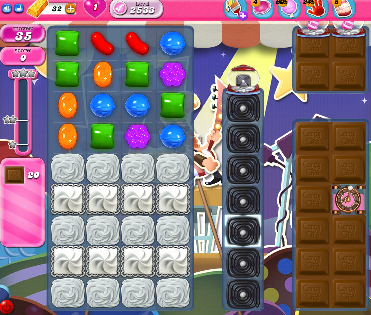 Candy Crush Saga level 2533