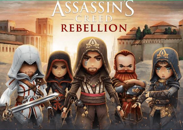 تحميل لعبة Assassin's Creed Rebellion 2.3.1 Mod APK اخر اصدار للاندرويد
