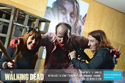 série The Walking Dead Zombies