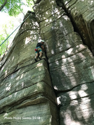 rose ledge, rock climbing