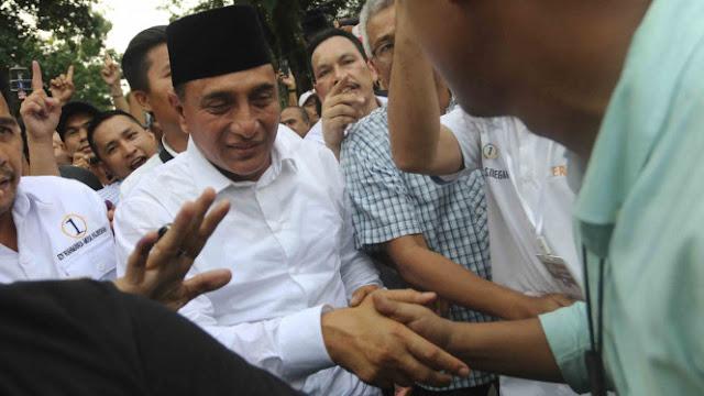 Gubernur Sumut Edy Rahmayadi Dapat Pesan Khusus KPK