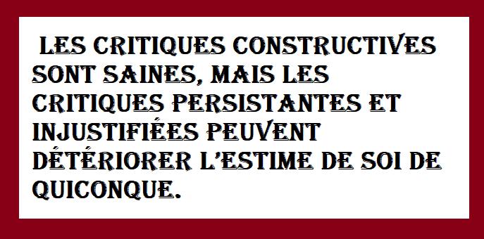 Jolies Citations Critiques