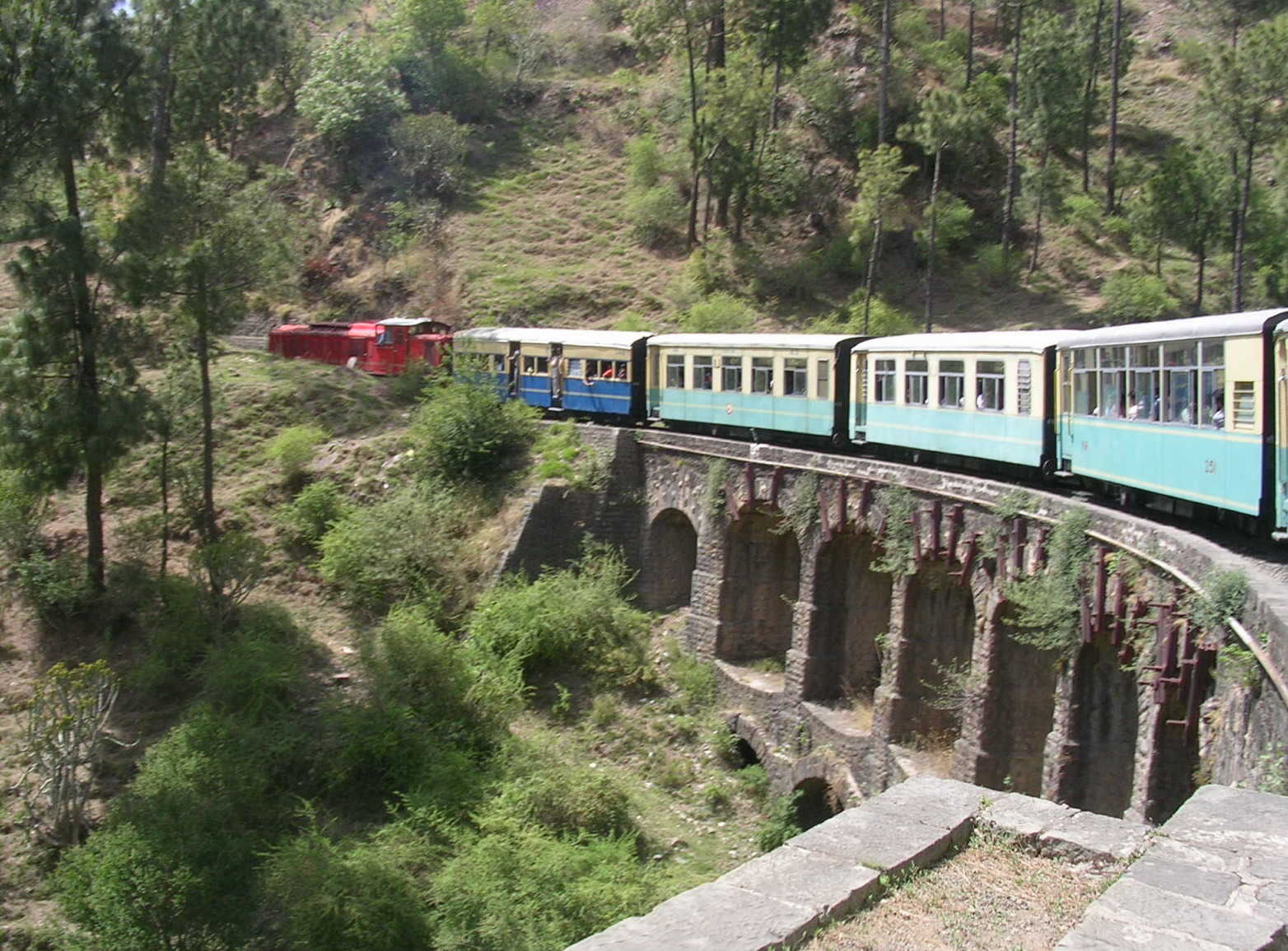 The Toy Train to Shimla