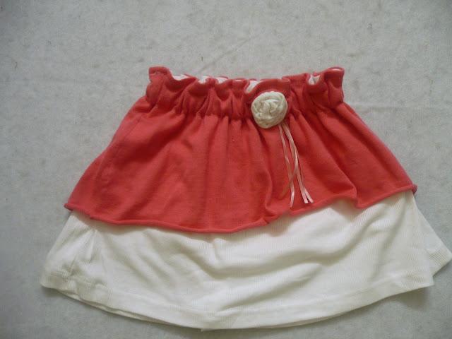 Layered skirt sewing tutorial